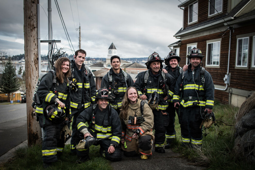 South Kitsap firefighter group photo